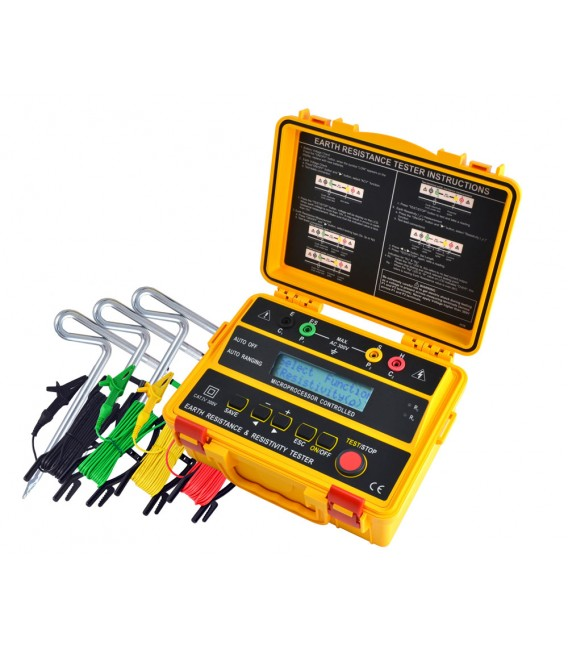 Cabac C4235 4 Wire Earth Resistance Tester