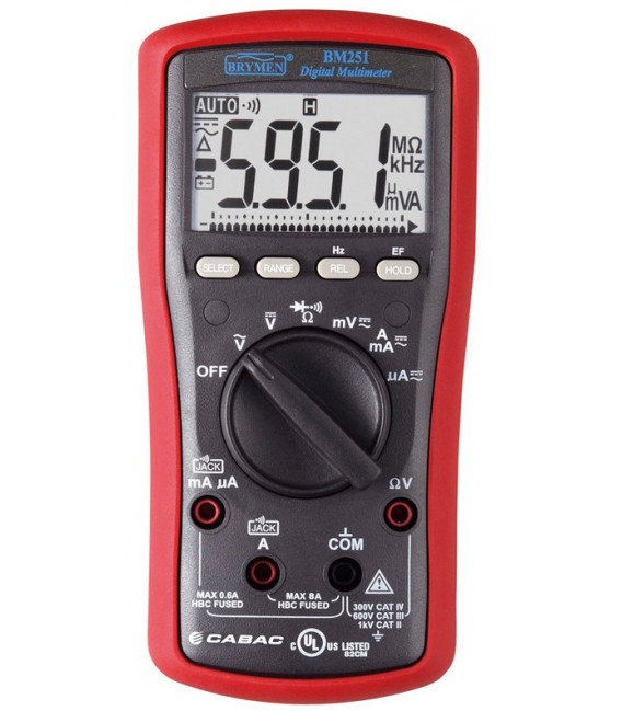 Brymen BM251 6000 Count Digital Multimeter