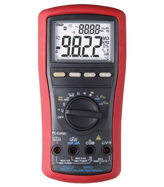 Brymen BM822 10,000 Count Dual Display TRMS Digital Multimeter