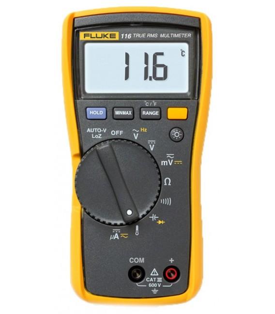 Fluke 116 6000 Count HVAC Multimeter, TRMS