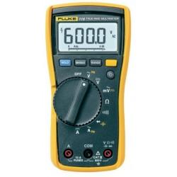 Fluke 115 6000 Count Field Service Technician Multimeter, TRMS