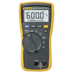 Fluke 114 6000 Count Electrician's Multimeter, TRMS