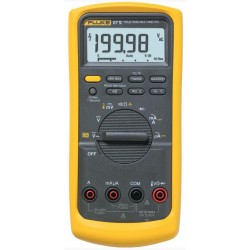 Fluke 87-V 6000 Count, (19,900 High Res) Industrial Multimeter, TRMS