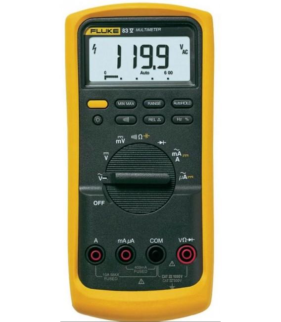 Fluke 83-V 6000 Count Industrial Multimeter