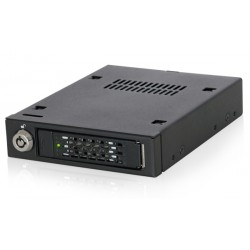 "Icy Dock ToughArmor MB601VK-B 2.5"" NVMe U.2 SSD Mobile Rack"