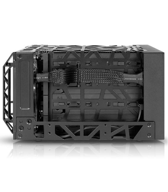 Icy Dock MB174U3S-4SB Black Vortex 4 Bay USB 3.0 & eSATA HDD Enclosure
