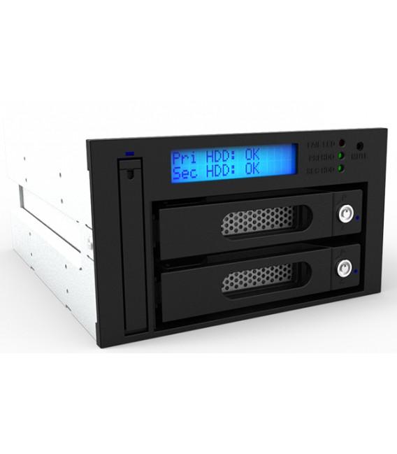 RAIDON iR2623-S3 Internal 2 Bay RAID Drive Module with Removable Tray