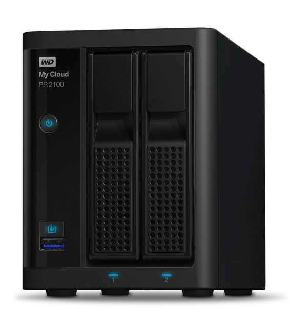 Western Digital My Cloud PR2100 Pro Series 2-bay 4TB NAS