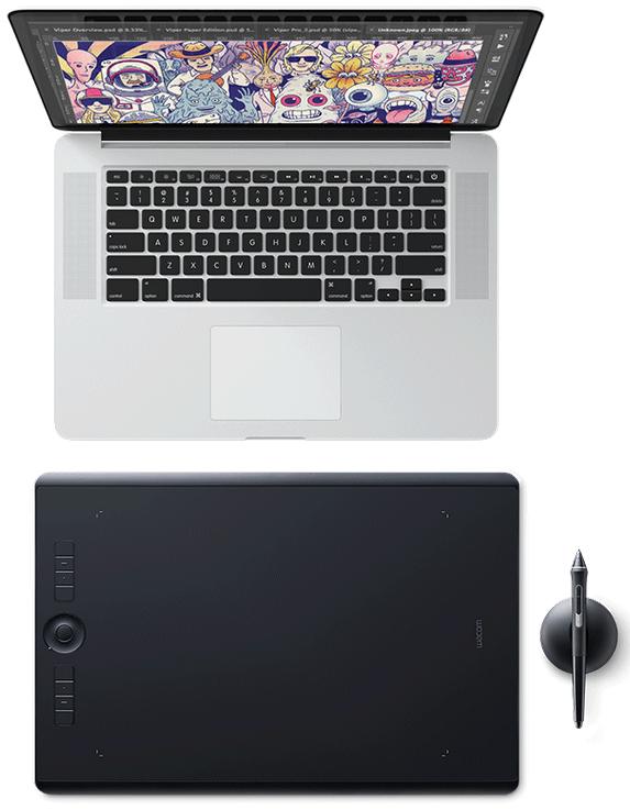 Wacom Intuos Graphics Tablet